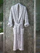 Barefoot Dreams Bamboo Chic Adult Robe Cream Size 1