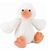 Jellycat Bashful Duck Cream