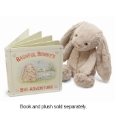 Jellycat Bashful Bunny's Big Adventure Book