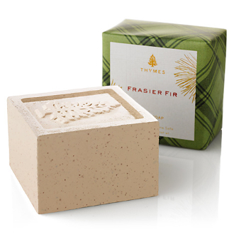 The Thymes Frasier Fir Bar Soap