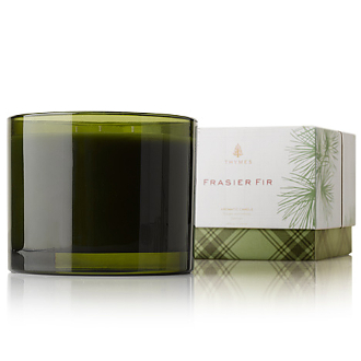 The Thymes Frasier Fir 3 Wick Candle