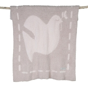 Barefoot Dreams Covered in Prayer Blanket Blush/Pink