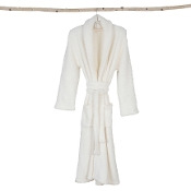 Barefoot Dreams CozyChic Pearl Adult Robe Size 1