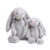 Jellycat Bashful Grey Bunny Huge