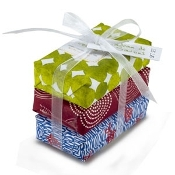 Mistral Fresh Papiers Fantaisie 3 Soap Wrap