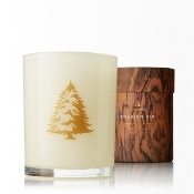 The Thymes Frasier Fir Holiday Wood Wick Candle