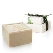 The Thymes Frasier Fir Bar Soap and Dish Set
