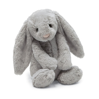 Jellycat Bashful Grey Bunny Small