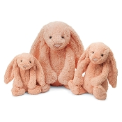 Jellycat Bashful Peach Bunny Huge