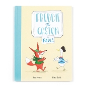 Jellycat Freddie and Gaston Go To Paris Book