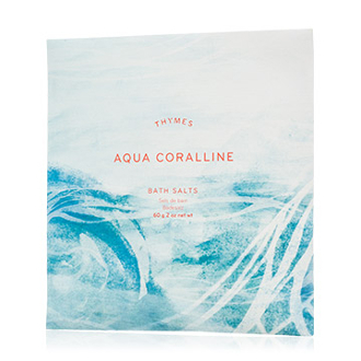 The Thymes Aqua Coralline Bath Salts Envelope