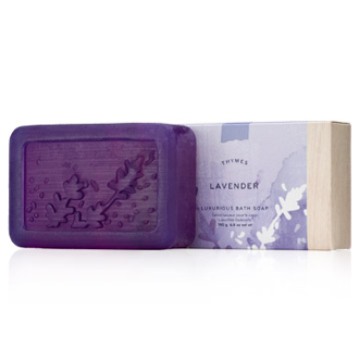 The Thymes Lavender Bar Soap
