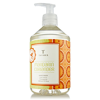 The Thymes Mandarin Coriander Large Hand Wash