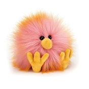 Jellycat Crazy Chick Yellow & Pink