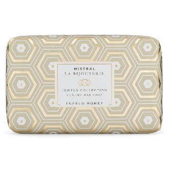 Mistral Tupelo Honey Jewels Bar Soap