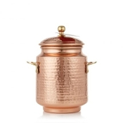Thymes Simmered Cider Tall Copper Pot