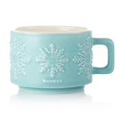 Thymes Hot Cocoa Peppermint Small Mug Candle
