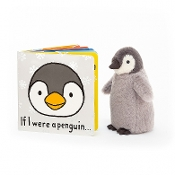 Jellycat If I Were a Penguin Book